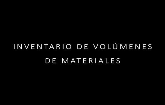 inventario volumenes